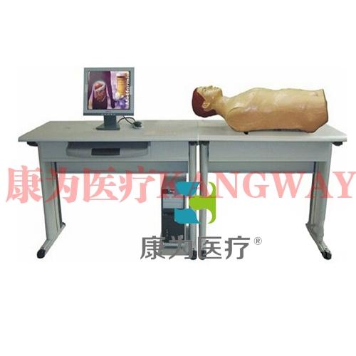 """""""康为医疗""""智能化腹部检查教学系统(学生实验机)"""