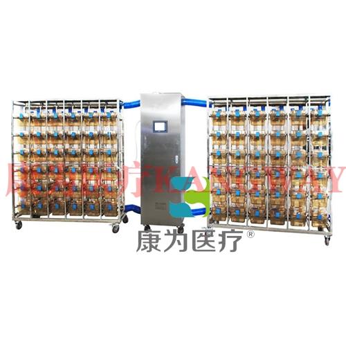 """""""康为医疗""""触摸屏小鼠IVC笼具 (GA36笼一拖二(PSU))"""