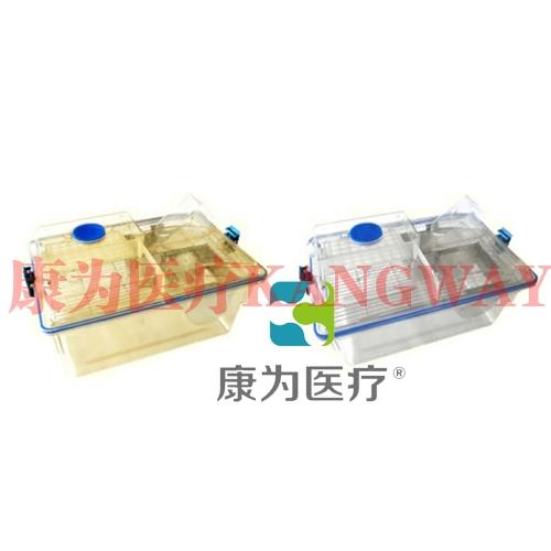 """""""康为医疗""""大鼠笼盒(外置式水瓶)"""
