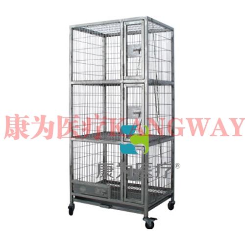 """""""康为医疗""""不锈钢猫笼 KDF/ML-3"""