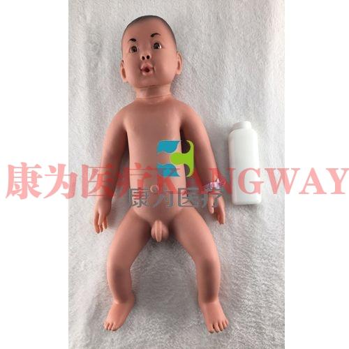 """""""康为医疗""""高级新生儿护理标准化模拟病人(男婴)高级新生儿护理模拟人"""