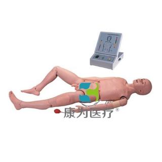 """""""康为医疗""""成人男性高级护理训练标准化模拟病人(带电子显示)"""