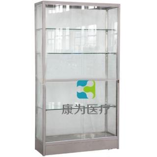 """""""康为医疗""""新型不锈钢标本陈列柜"""